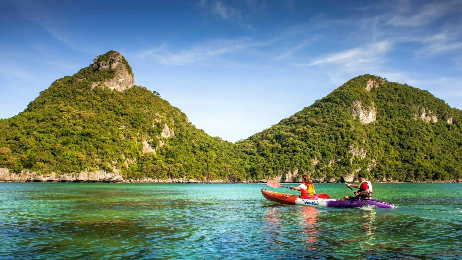 Ang Thong Ulusal Deniz Parkı Koh Samui