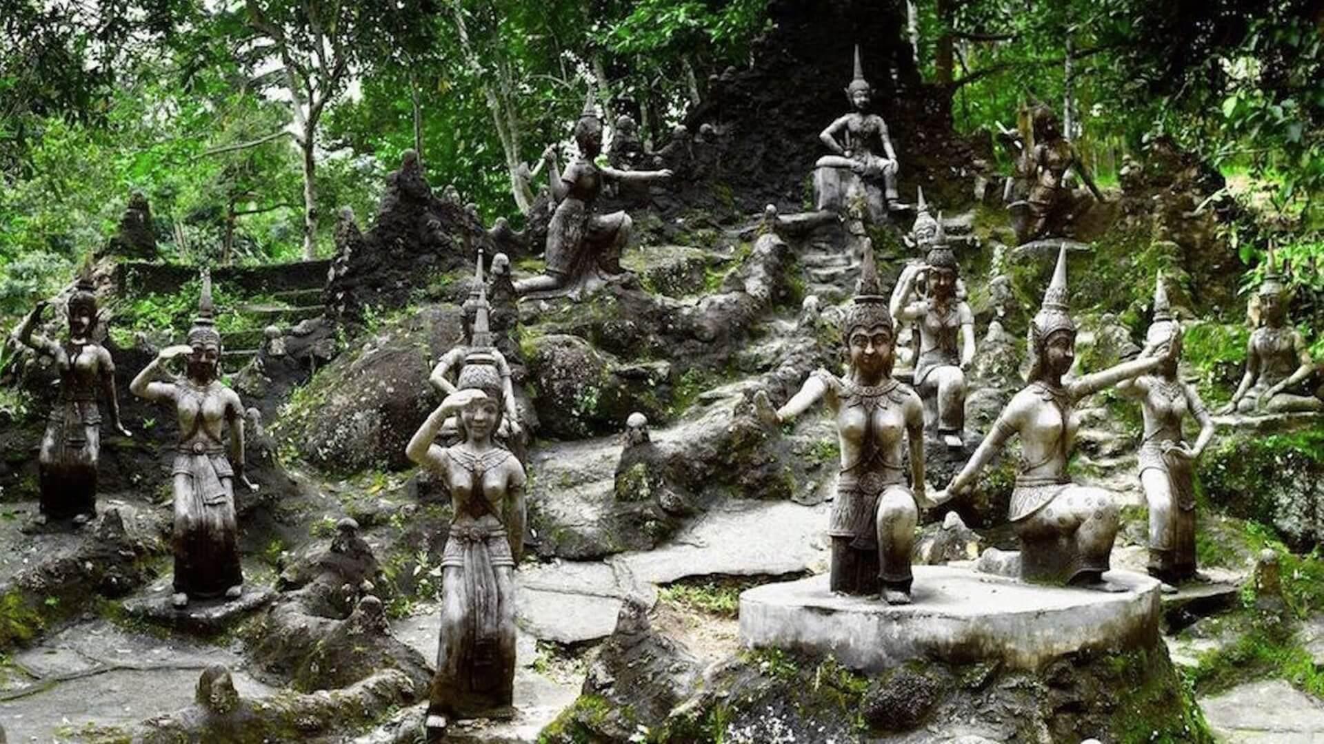 Gizli Buda Bahçesi Koh Samui